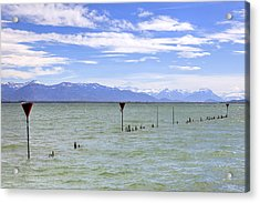 Lake Constance Acrylic Print by Joana Kruse