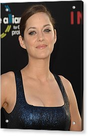 Marion Cotillard At Arrivals Acrylic Print by Everett