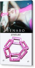 My Art Jewelry Acrylic Print by Eena Bo