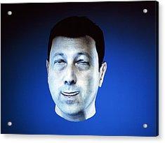 Personalised Virtual Avatar Acrylic Print by Volker Steger