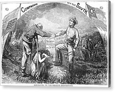 Presidential Campaign, 1864 Acrylic Print by Granger