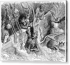 Rabelais: Pantagruel Acrylic Print by Granger