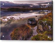 Rannoch Moor Glencoe Scotland Acrylic Print