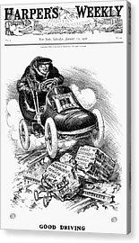 Roosevelt Cartoon, 1906 Acrylic Print by Granger