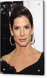 Sandra Bullock At Arrivals For The Acrylic Print by Everett