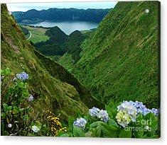 Sete Cidades - Azores Acrylic Print