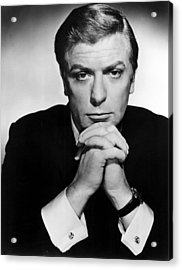 The Ipcress File, Michael Caine, 1965 Acrylic Print by Everett