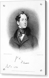 Thomas Moore (1779-1852) Acrylic Print by Granger