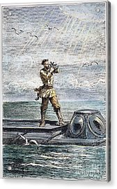 Verne: 20,000 Leagues, 1870 Acrylic Print by Granger
