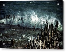 Waves Acrylic Print by Joana Kruse