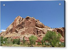 Capitol Reef National Park Acrylic Print by Southern Utah  Photography