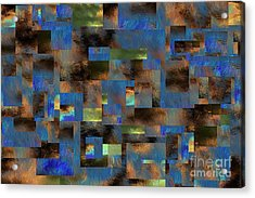 Acrylic Print featuring the digital art 4312 by Leo Symon