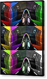 440 Cuda Billboard Pop Acrylic Print by Gordon Dean II
