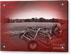 47 Bales Acrylic Print by The Stone Age