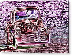 48 Pick Up Acrylic Print by Elizabeth  Doran