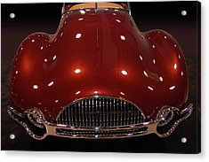 49 Buick Speedster Acrylic Print by Bill Dutting