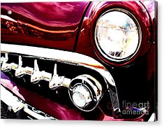 Acrylic Print featuring the digital art 49 Ford by Tony Cooper