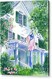 4th Of July In Georgia Acrylic Print by Bambi Rogers