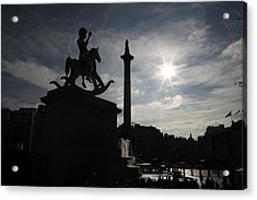 4th Plinth 3 Acrylic Print by Jez C Self