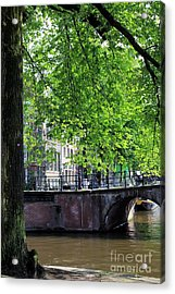 Amsterdam Acrylic Print by Sophie Vigneault