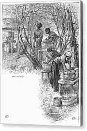 Arkansas: Hot Springs, 1878 Acrylic Print by Granger