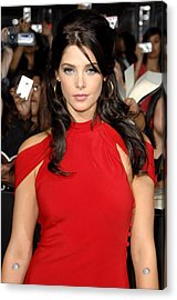 Ashley Greene At Arrivals For The Acrylic Print by Everett