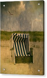 Beach Chair Acrylic Print by Joana Kruse