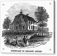 Benedict Arnold (1741-1801) Acrylic Print by Granger