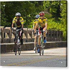 Bicycle Ride Across Georgia Acrylic Print by Susan Leggett