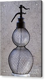 Bottle Of Water  Acrylic Print by Odon Czintos