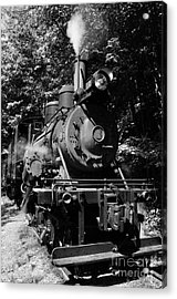Climax Geared Locomotive Acrylic Print by Thomas R Fletcher