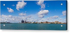 Detroit Michigan Skyline Acrylic Print