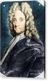 Edmond Halley, English Polymath Acrylic Print by Science Source