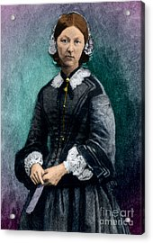 Florence Nightingale, English Nurse Acrylic Print by Science Source