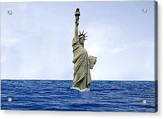 Global Warming Acrylic Print by Tony Craddock