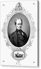 Henry Clay (1777-1852) Acrylic Print by Granger