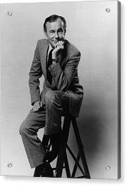 Jack Paar 1918-2004, American Acrylic Print by Everett