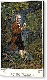 Jean-jacques Rousseau Acrylic Print by Granger