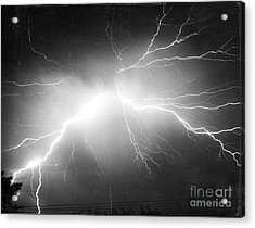 Lightning Acrylic Print by Science Source