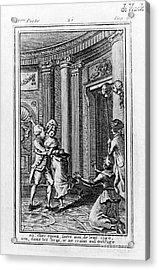 Louis Xvi (1754-1793) Acrylic Print by Granger