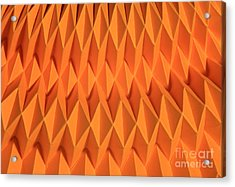 Mathematical Origami Acrylic Print by Ted Kinsman