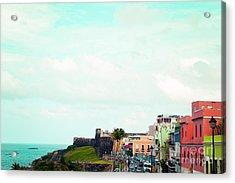 Old San Juan Puerto Rico Acrylic Print
