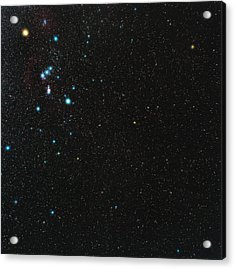 Orion Constellation Acrylic Print by Eckhard Slawik
