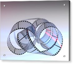 Photographic Film Acrylic Print by Tek Image