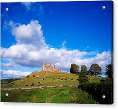Rock Of Cashel, Co Tipperary, Ireland Acrylic Print by The Irish Image Collection