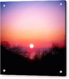 Scottish Sunset Acrylic Print