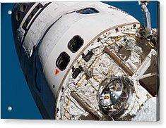 Space Shuttle Atlantis Acrylic Print by Stocktrek Images