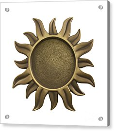 Sun Star Acrylic Print by Blink Images