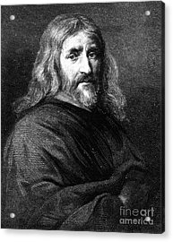 William Harvey, English Physician Acrylic Print by Science Source