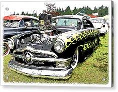 50 Ford Hot Rod Acrylic Print